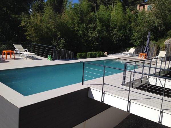 accessoire piscine beton