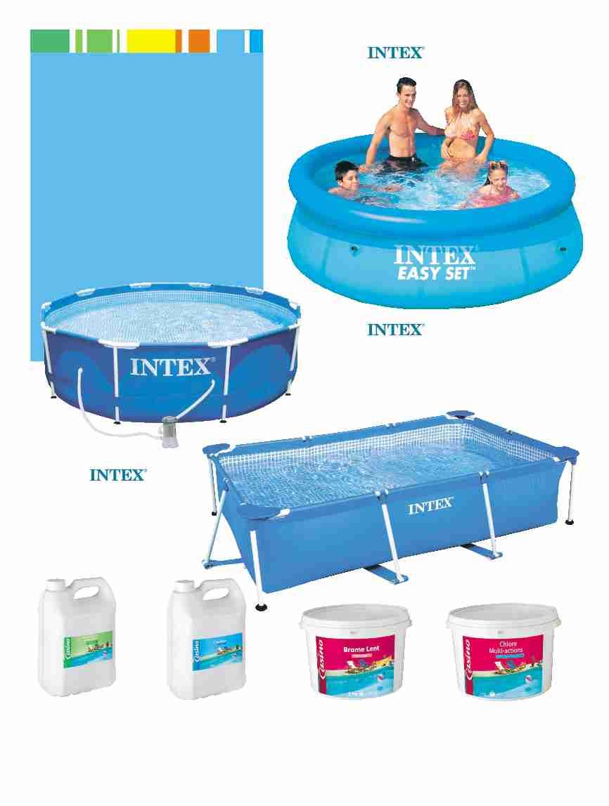 accessoire piscine geant casino