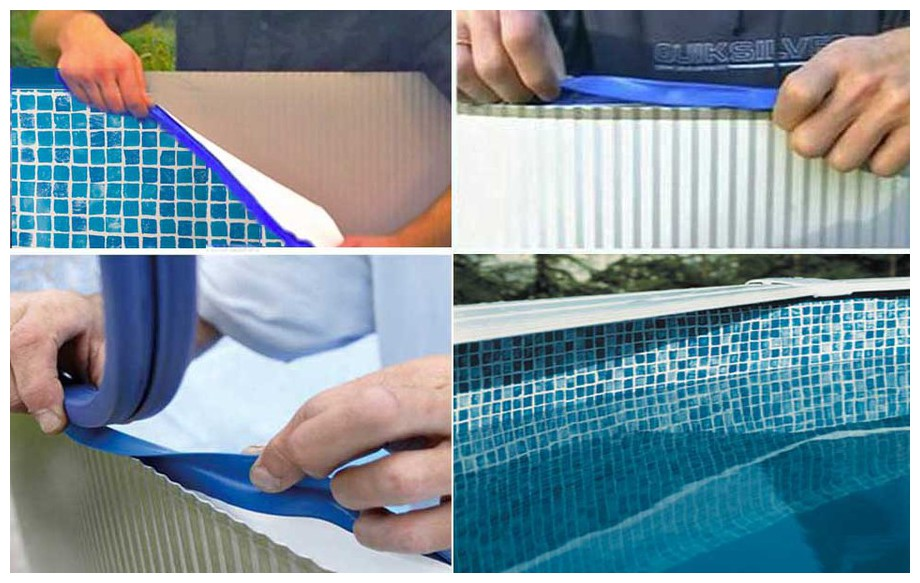 Accessoire piscine hors sol gre - Kit reparation liner piscine hors sol ...
