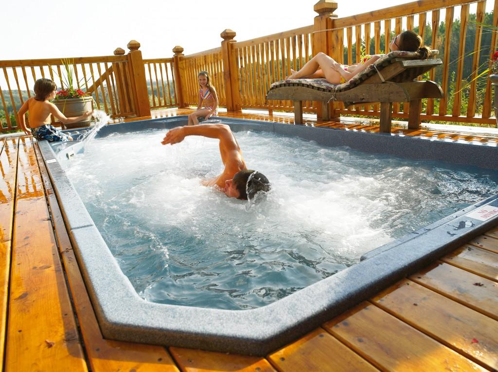 accessoire piscine nage contre courant