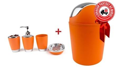 accessoire piscine orange