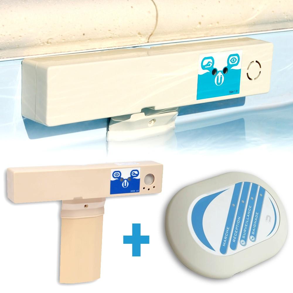 alarme piscine compatible robot