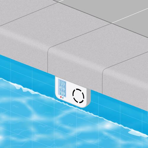 alarme piscine immergee