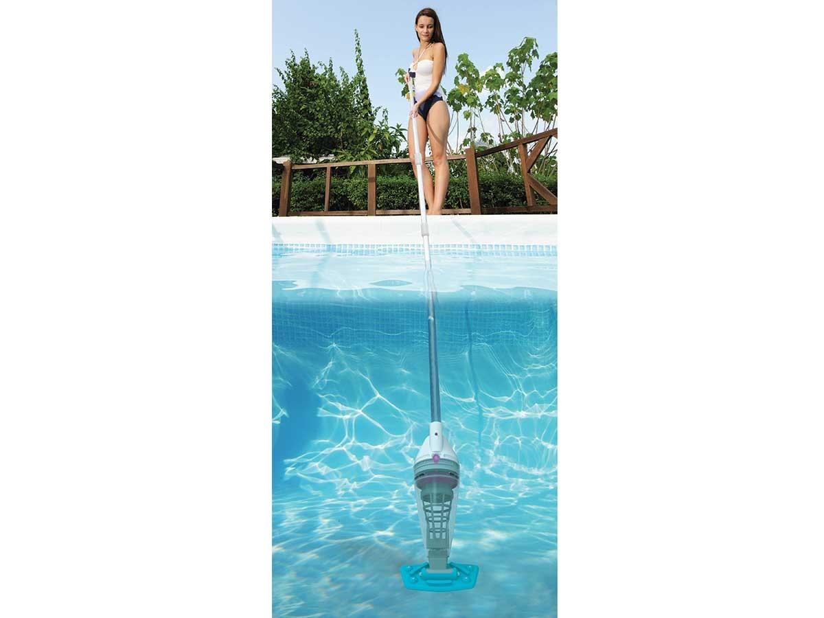 aspirateur piscine batterie intex