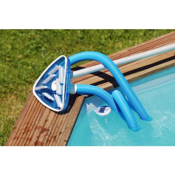 aspirateur piscine bois