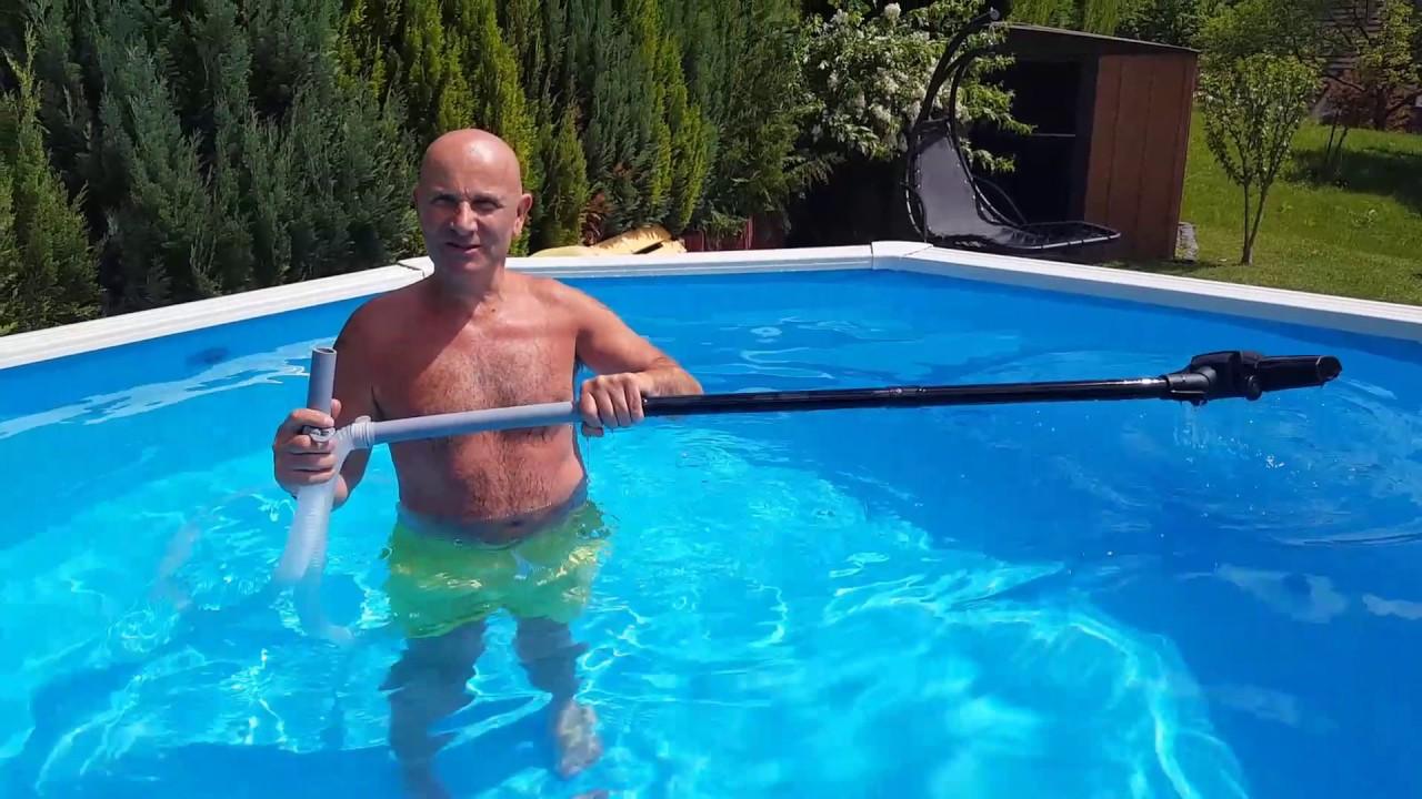 aspirateur piscine diy