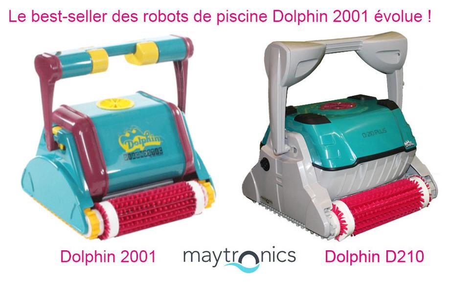 aspirateur piscine dolphin 2001