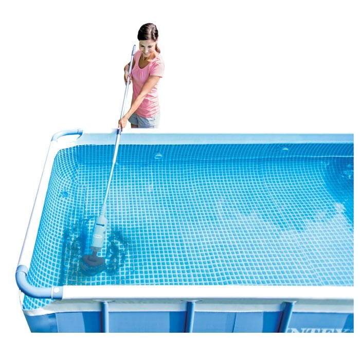 Aspirateur piscine intex tubulaire - Toboggan pour piscine hors sol intex ...