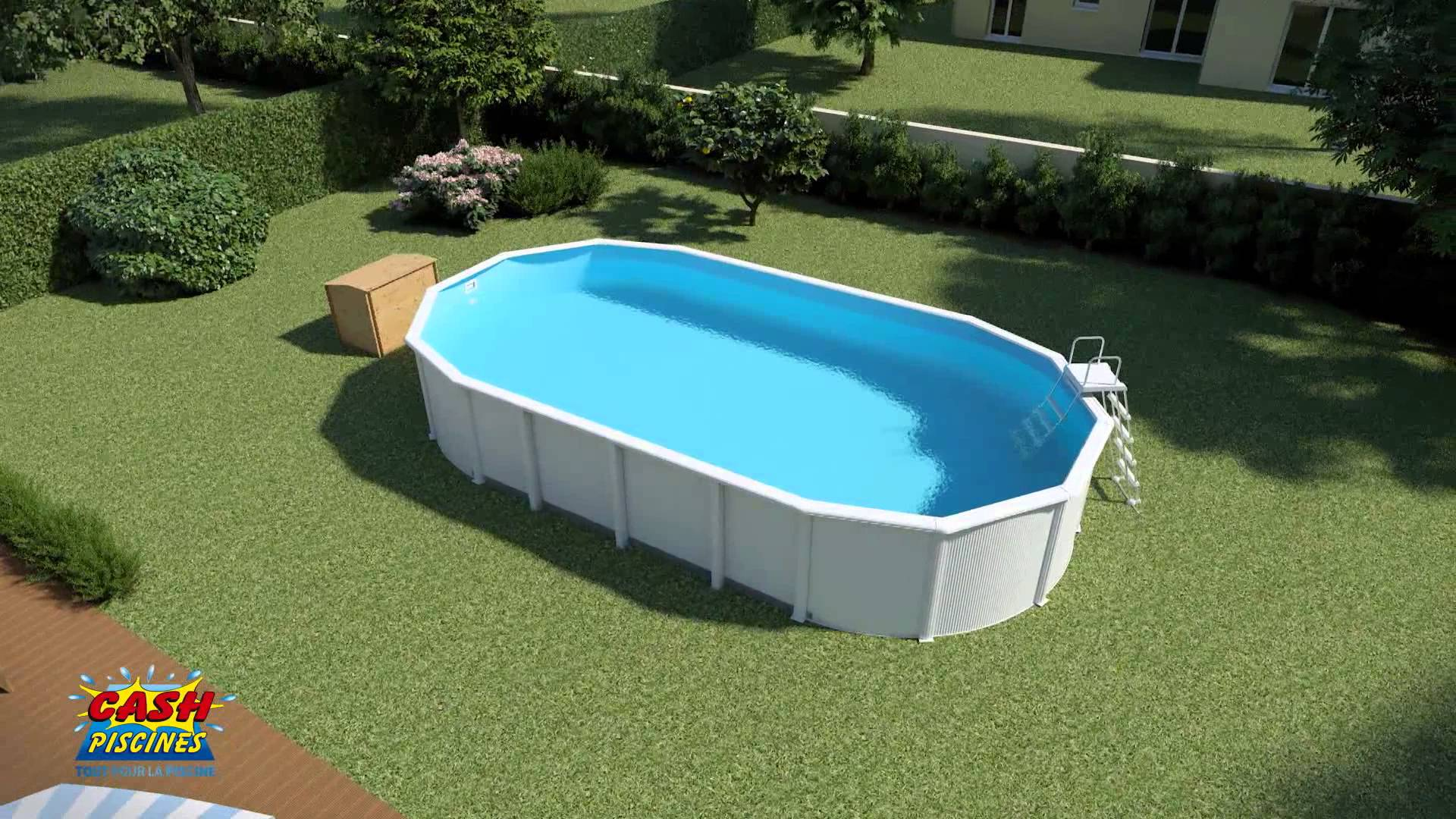 aspirateur piscine ronde acier