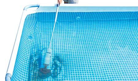 aspirateur piscine test