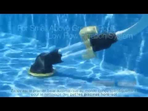 aspirateur piscine zappy kokido