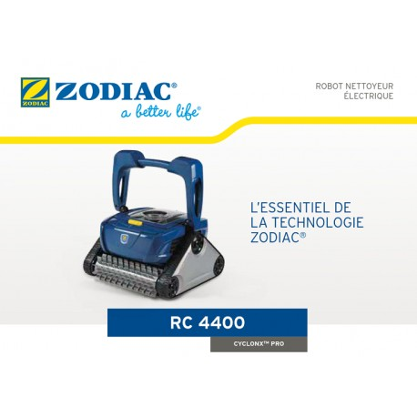 aspirateur piscine zodiac rc4400