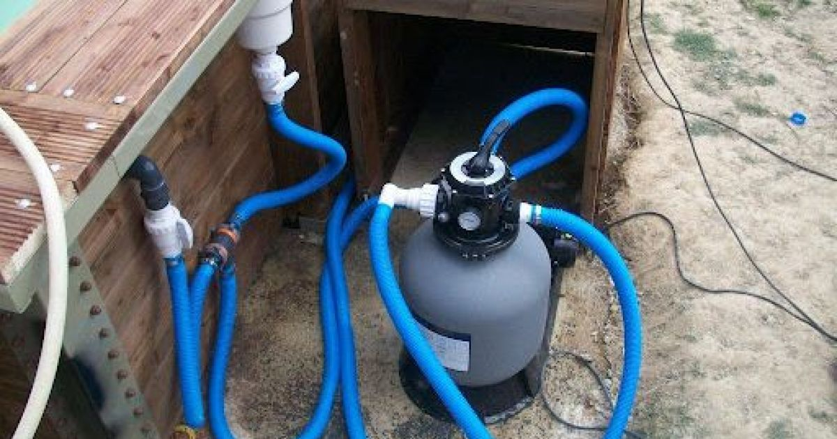 Filtration piscine creusee - Changer le sable d un filtre piscine ...
