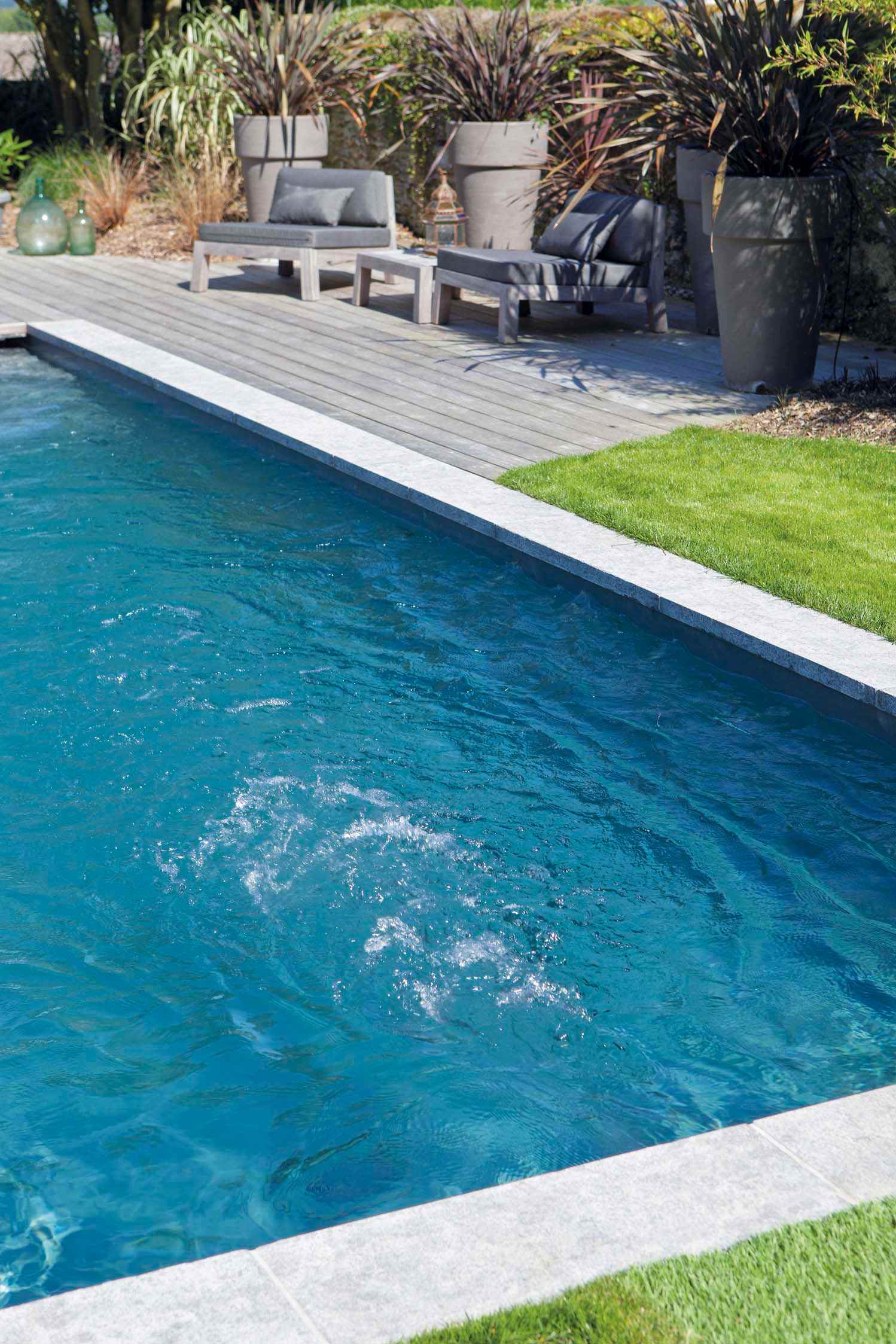 filtration piscine en continu