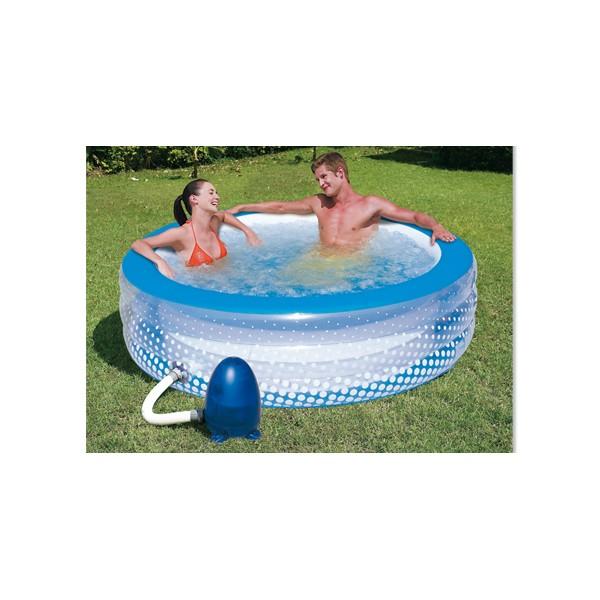 filtration piscine gonflable