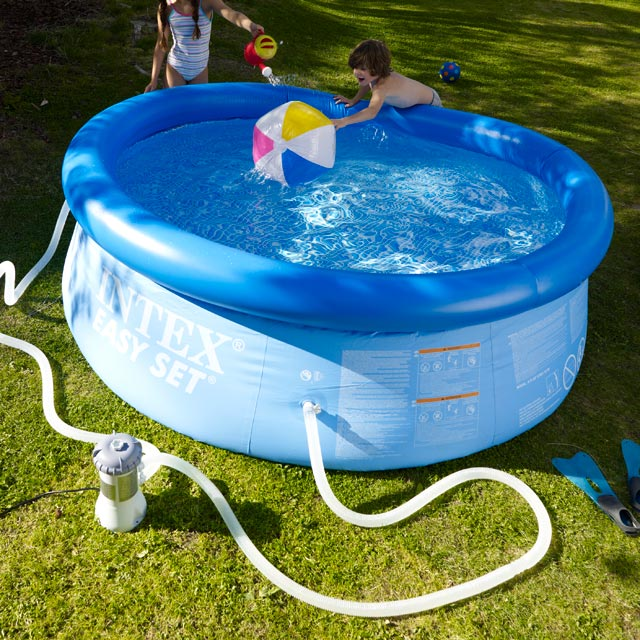 filtration piscine gonflable