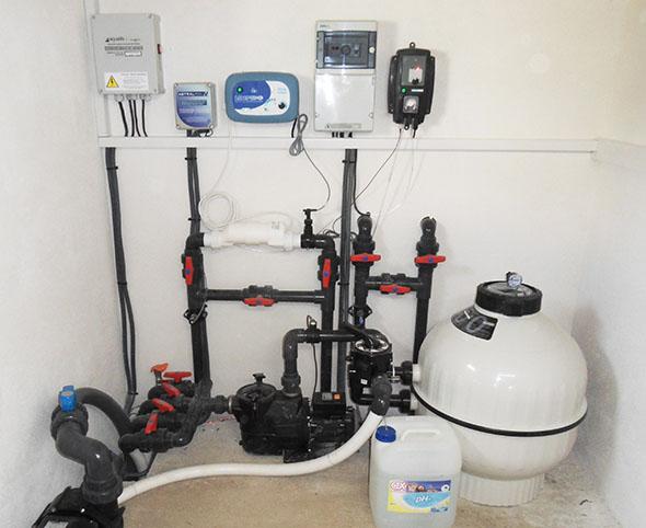 filtration piscine hiver