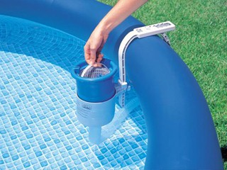 filtration piscine hors sol intex