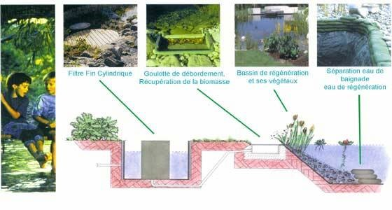 Kit filtration piscine naturelle
