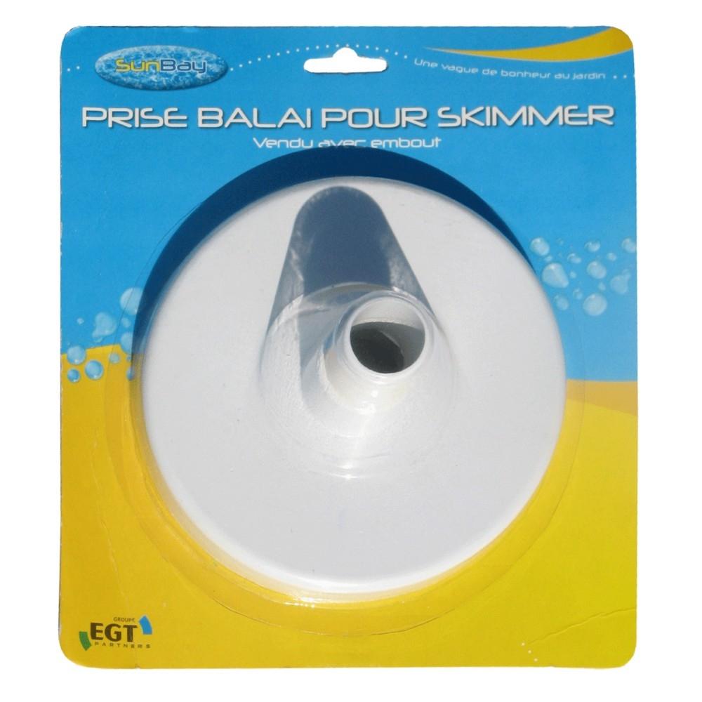 filtration piscine prise balai