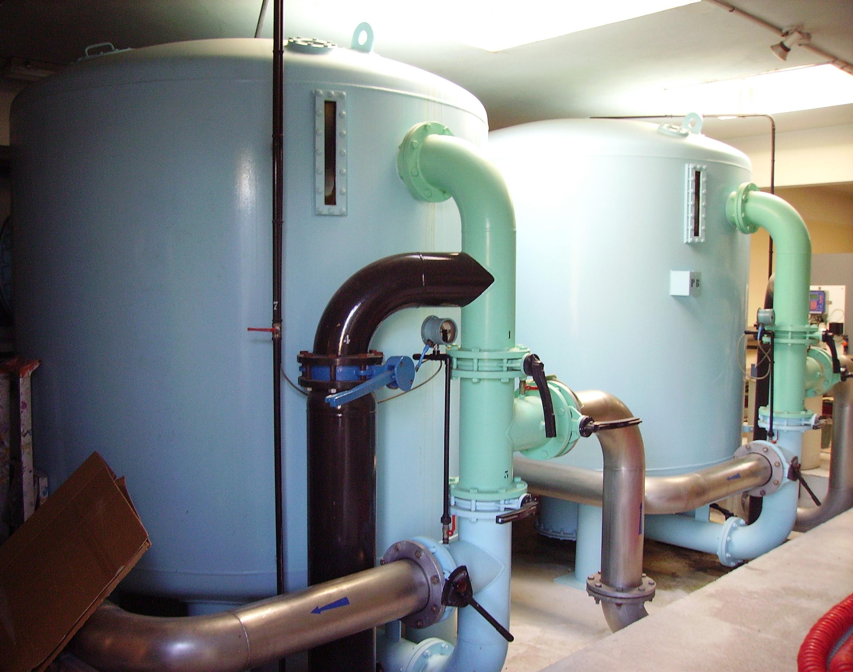 filtration piscine publique