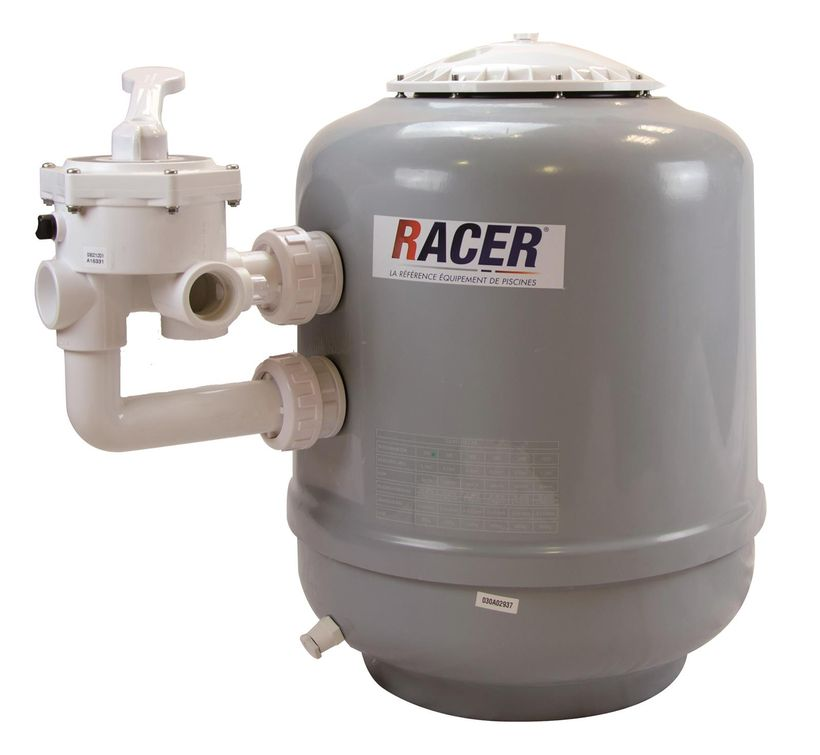 filtration piscine racer
