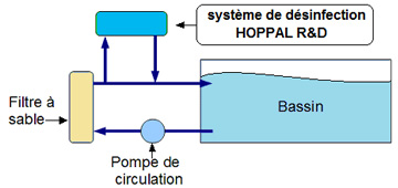 filtration piscine recirculation