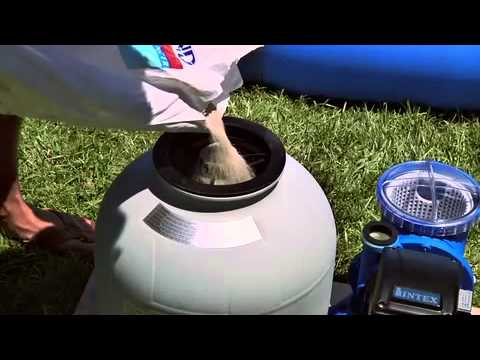 Filtration piscine recrache du sable - Changer le sable d un filtre piscine ...