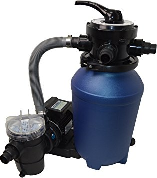 filtration piscine rejette du sable