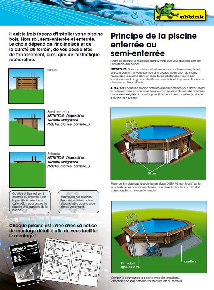filtration piscine semi enterree. Black Bedroom Furniture Sets. Home Design Ideas