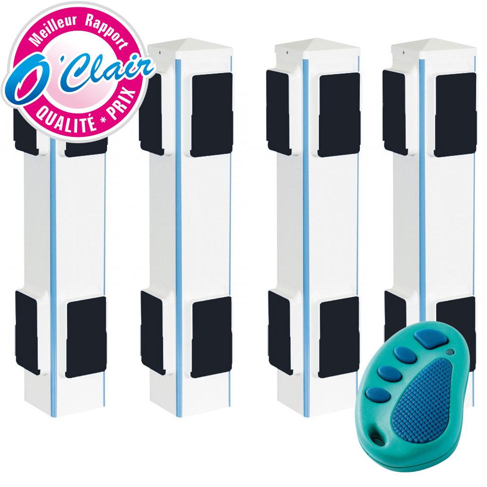 alarme piscine barriere infrarouge perimetrique sans fil bctech