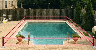 alarme piscine barriere infrarouge