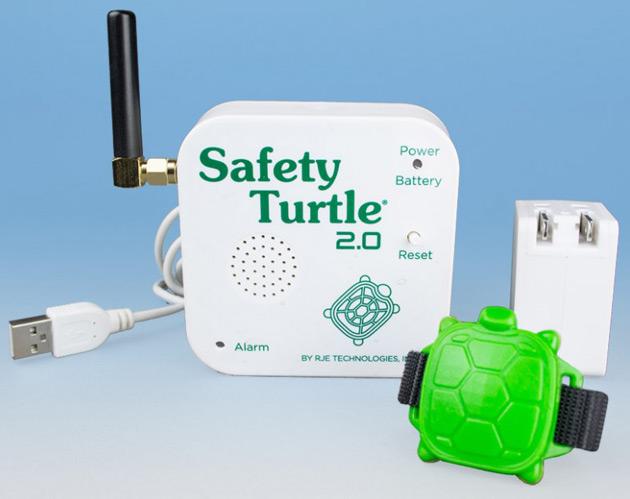 alarme piscine bracelet tortue