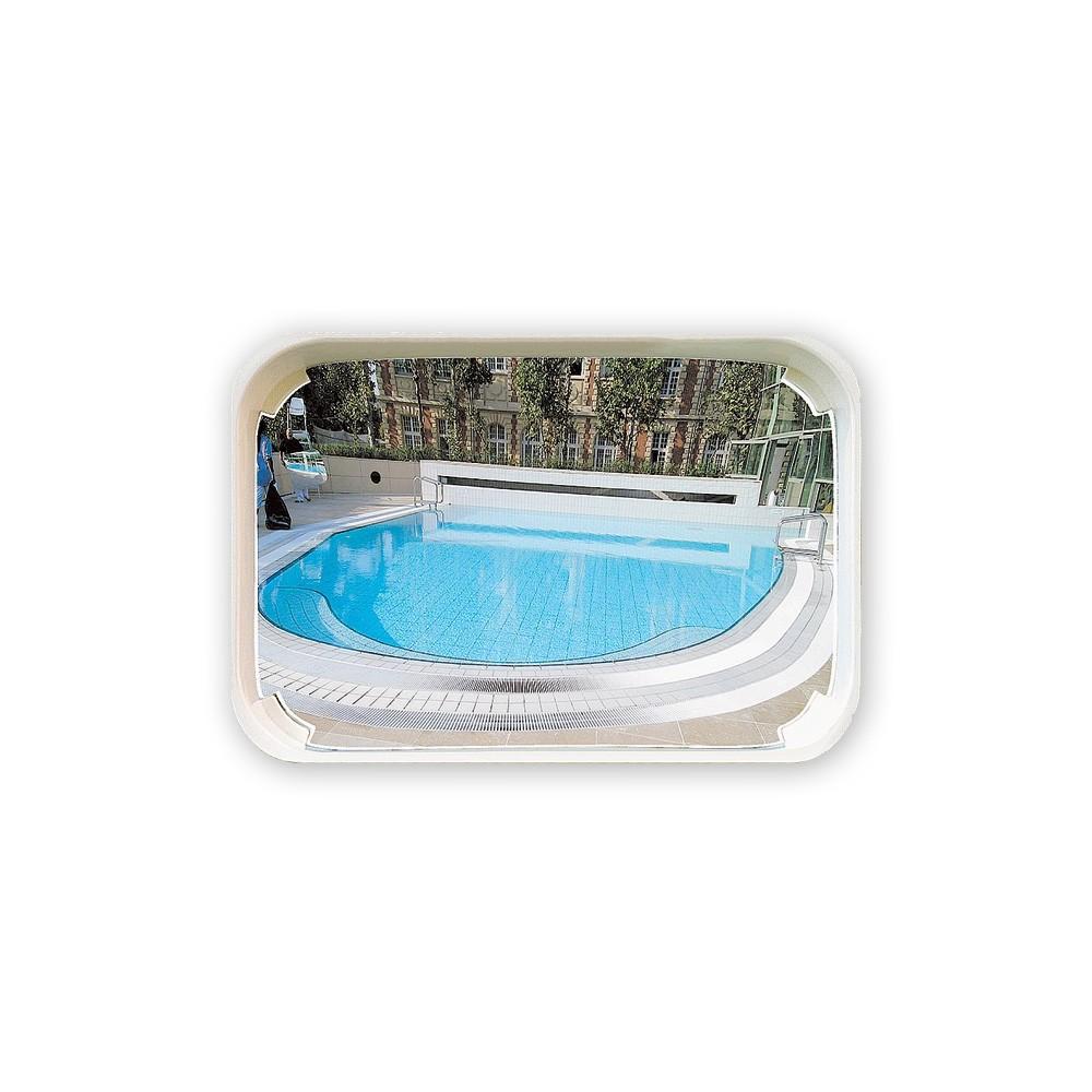 alarme piscine miroir
