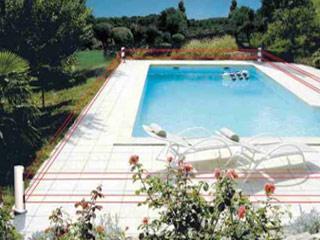 alarme piscine perimetrique 2 bornes