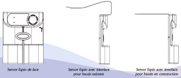 alarme piscine sensor espio