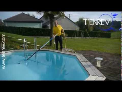aspirateur piscine particules fines