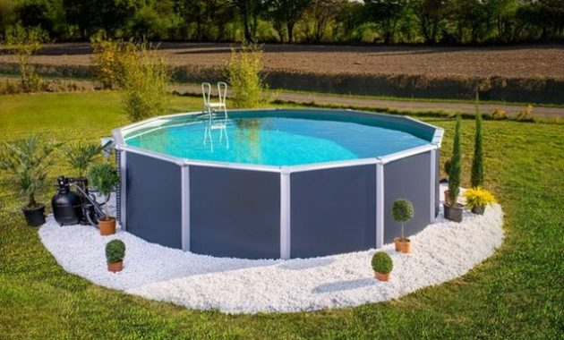 aspirateur piscine ronde