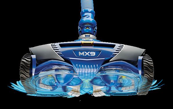 aspirateur piscine zodiac mx9