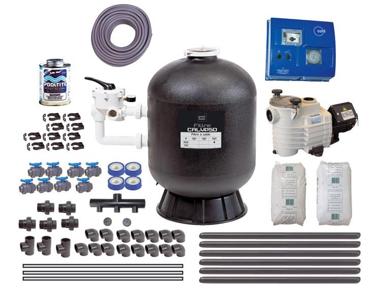 filtration piscine 40m3