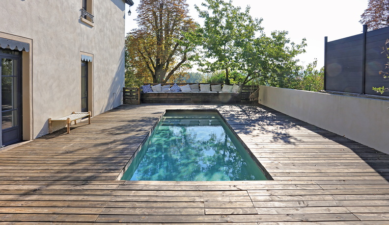 filtration piscine area