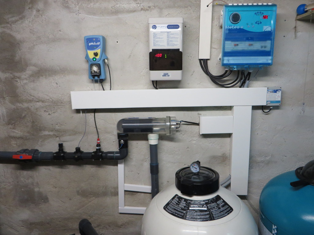 filtration piscine automatique