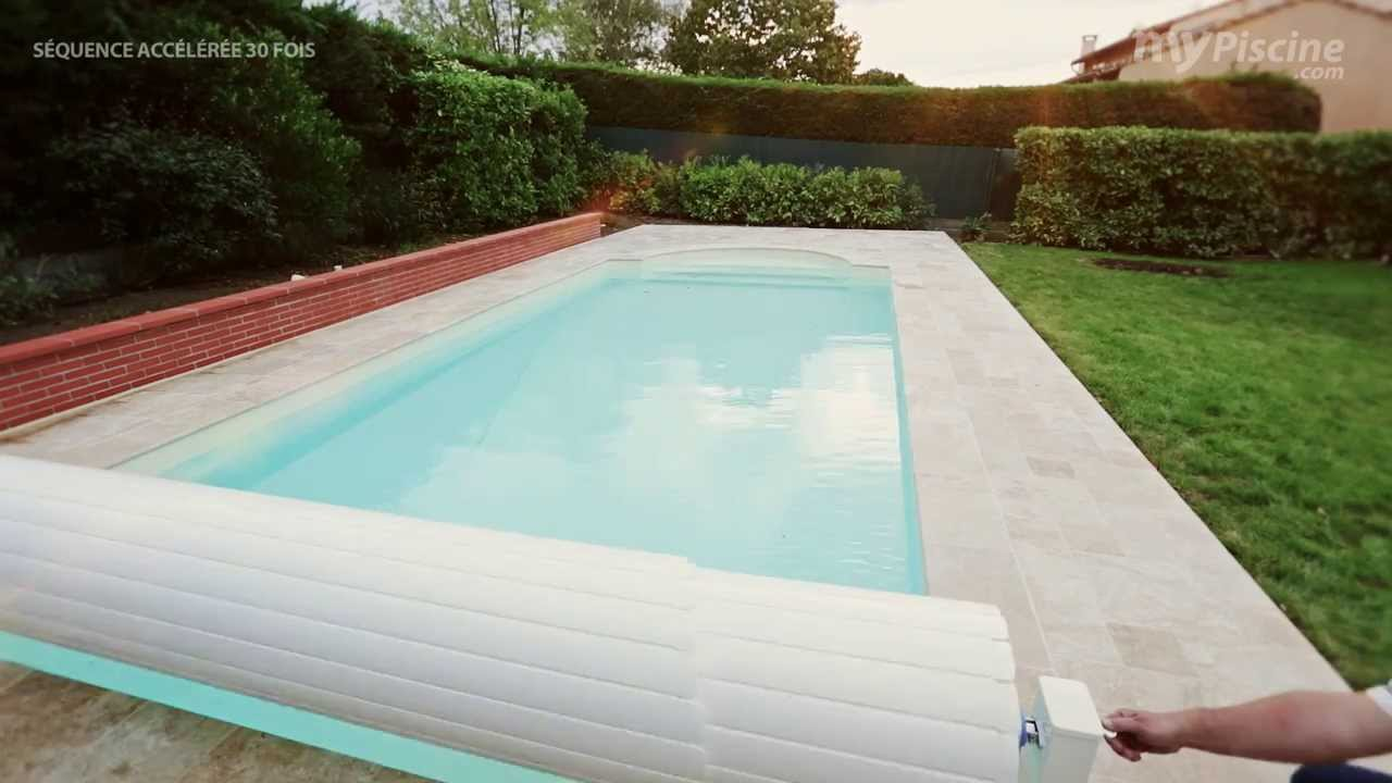filtration piscine avec volet roulant