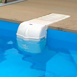filtration piscine en cavalier