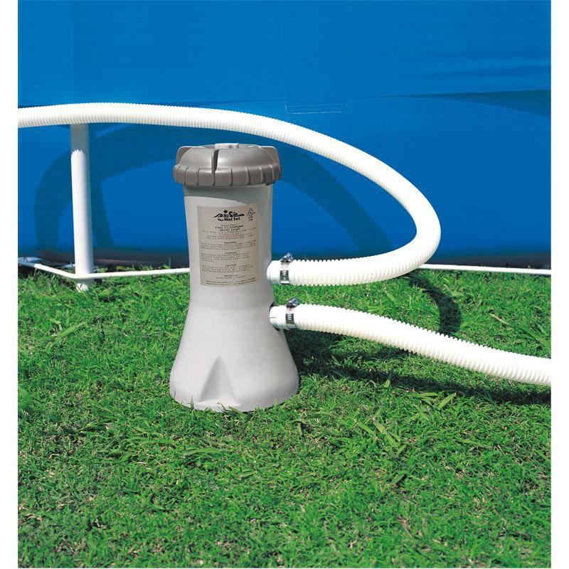 filtration piscine hors sol intex