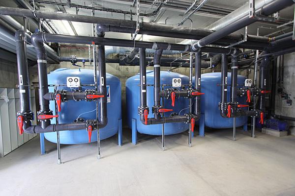 filtration piscine municipale