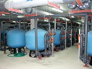 filtration piscine olympique