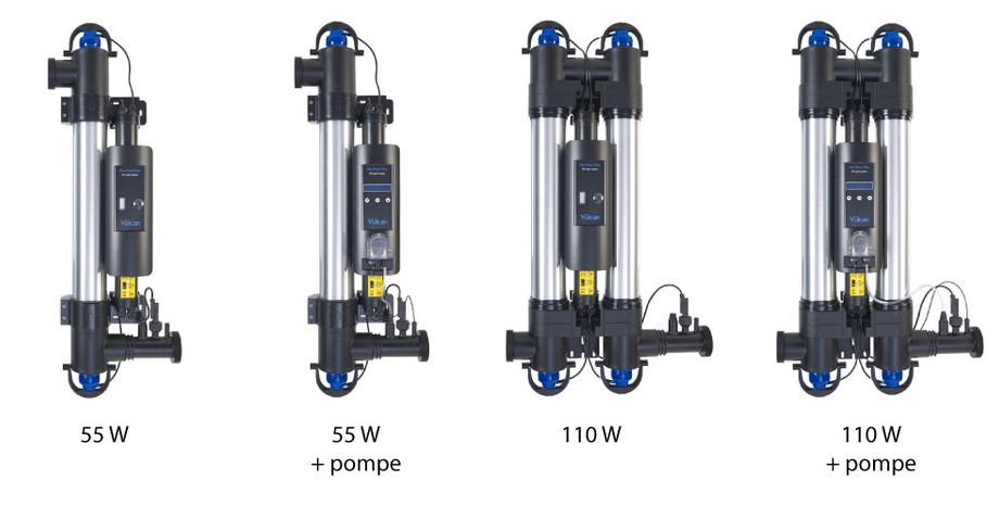 filtration piscine par uv