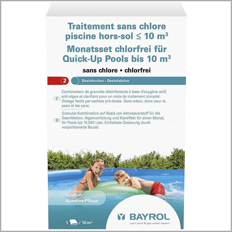 filtration piscine sans chlore