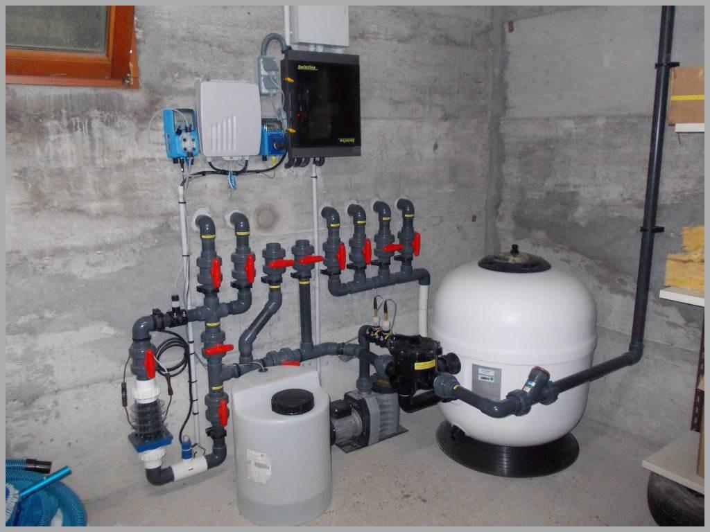 filtration piscine sel